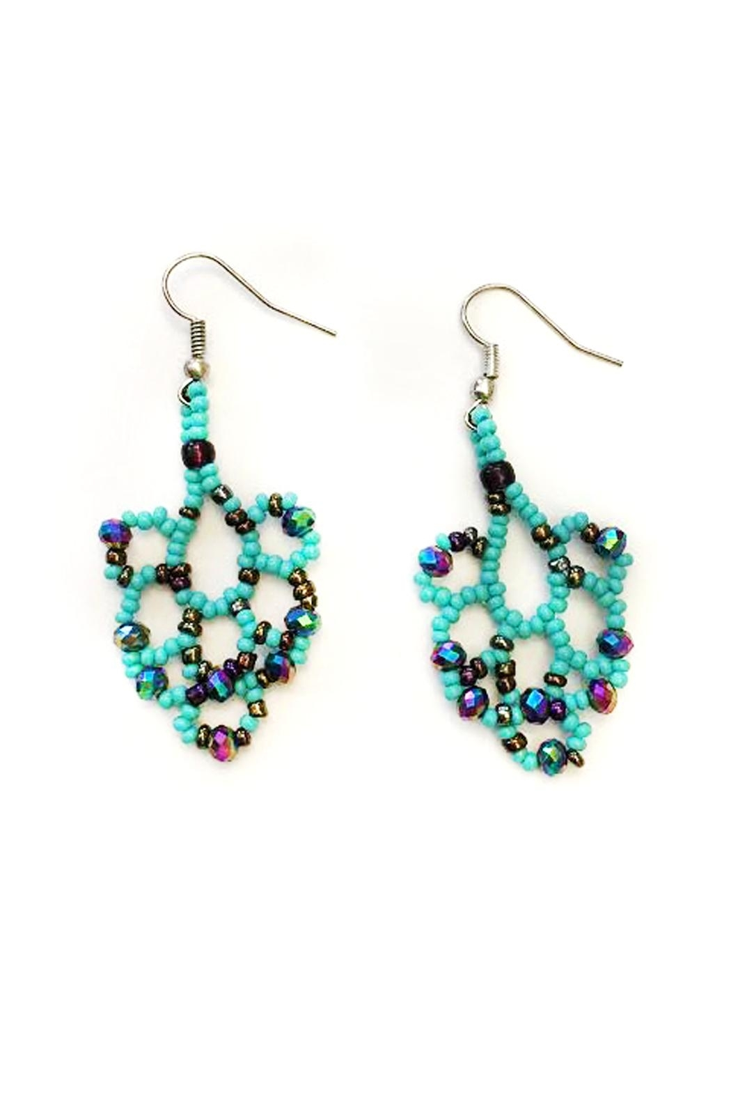 tu-anh boutique Goddess Chandelier Earrings - Main Image