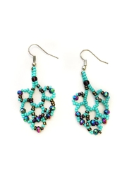 tu-anh boutique Goddess Chandelier Earrings - Product Mini Image