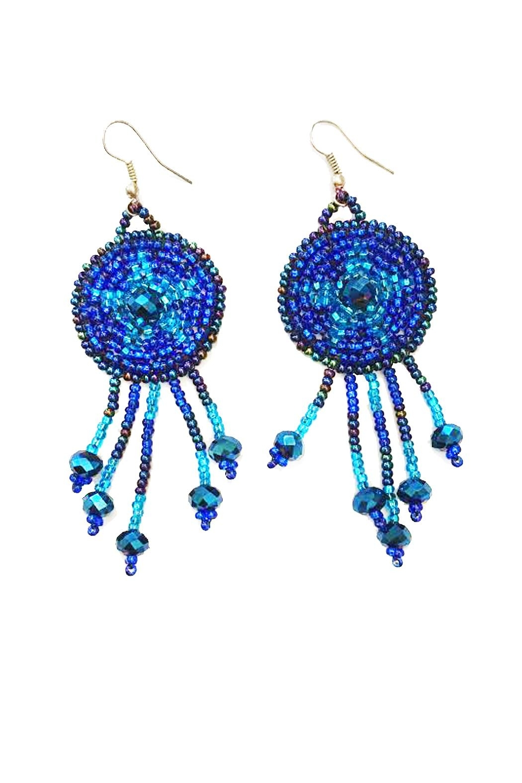 tu-anh boutique Goddess Star Earrings - Main Image