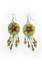tu-anh boutique Goddess Star Earrings - Front cropped