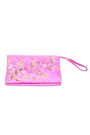 tu-anh boutique Hand Embroidered Clutch - Front cropped