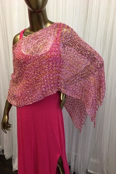 tu-anh boutique Hot Pink Knit Maxi - Alternate List Image