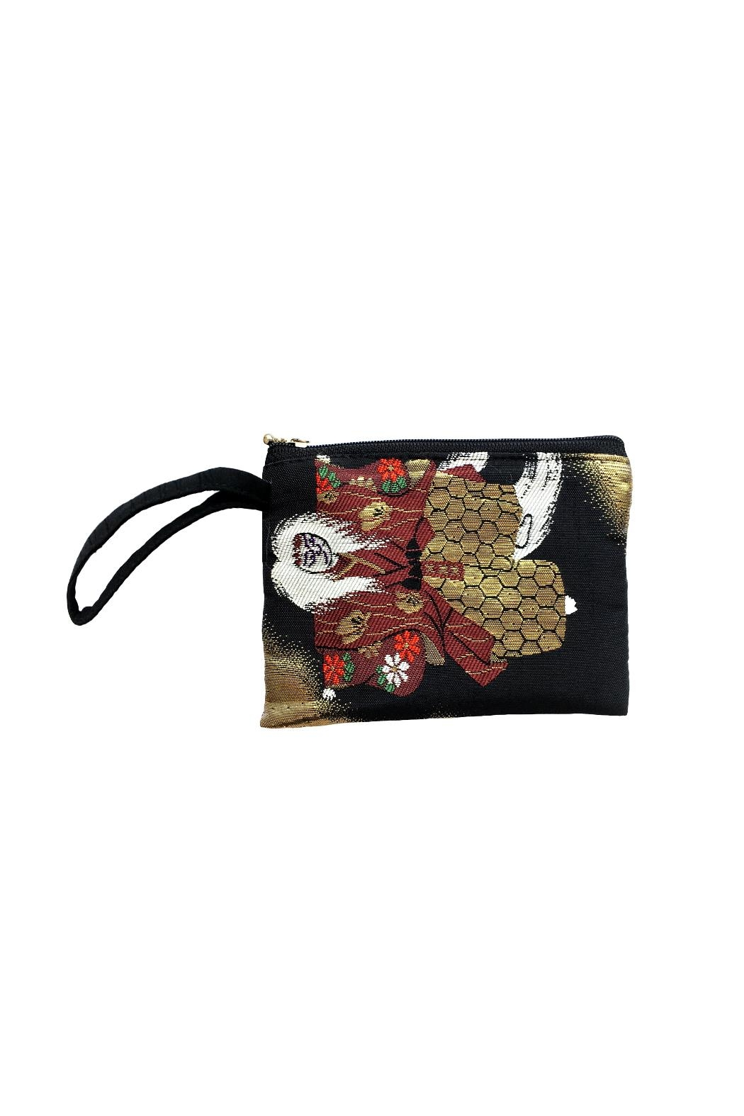 tu-anh boutique Japanese Kimono Clutch - Front Cropped Image