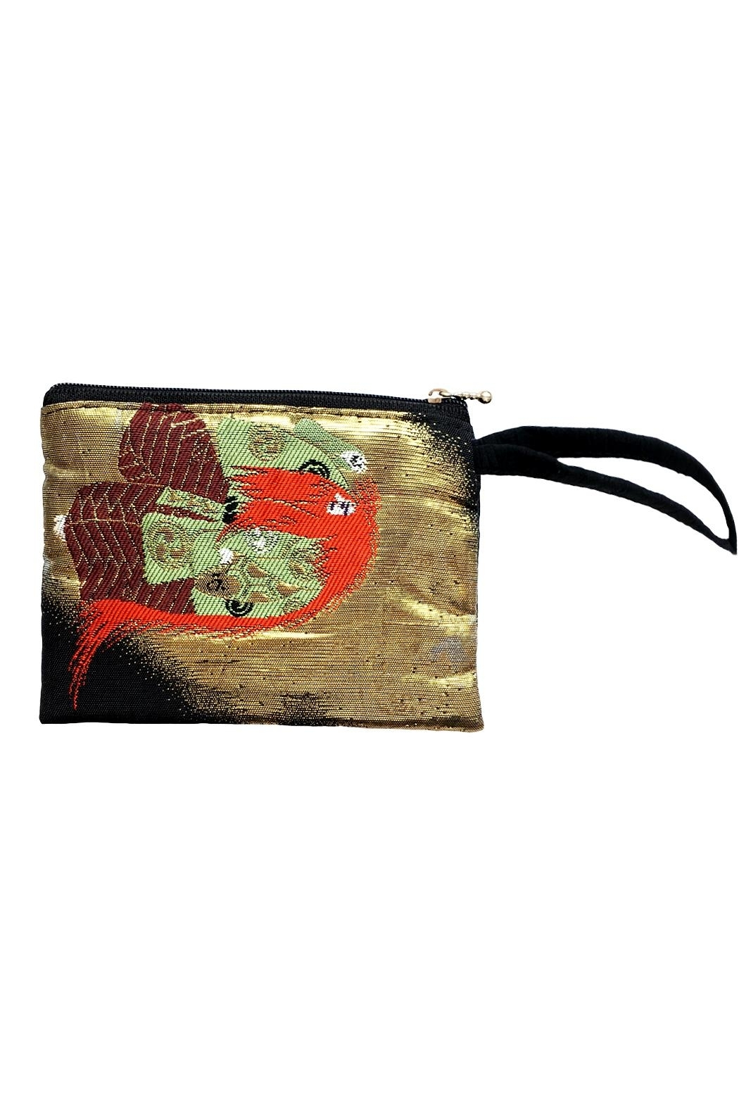tu-anh boutique Japanese Kimono Clutch - Front Full Image