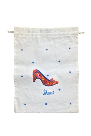 tu-anh boutique Linen Shoe Bag - Side cropped