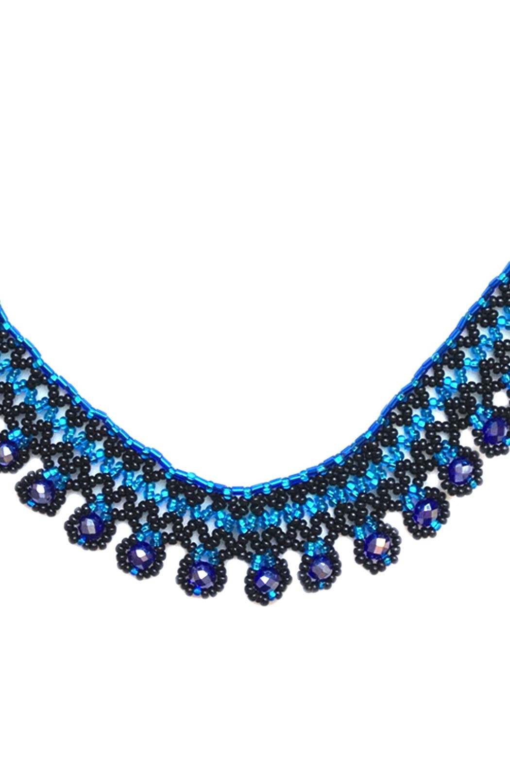 tu-anh boutique Mexican Beaded Necklace - Front Full Image