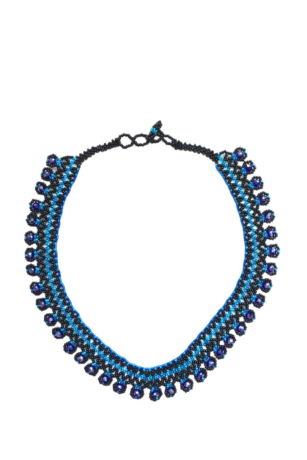 tu-anh boutique Mexican Beaded Necklace - Main Image