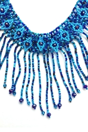 tu-anh boutique Mexican Dangling Necklace - Front full body