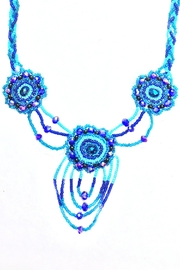 tu-anh boutique Mexican Floral Necklace - Front full body