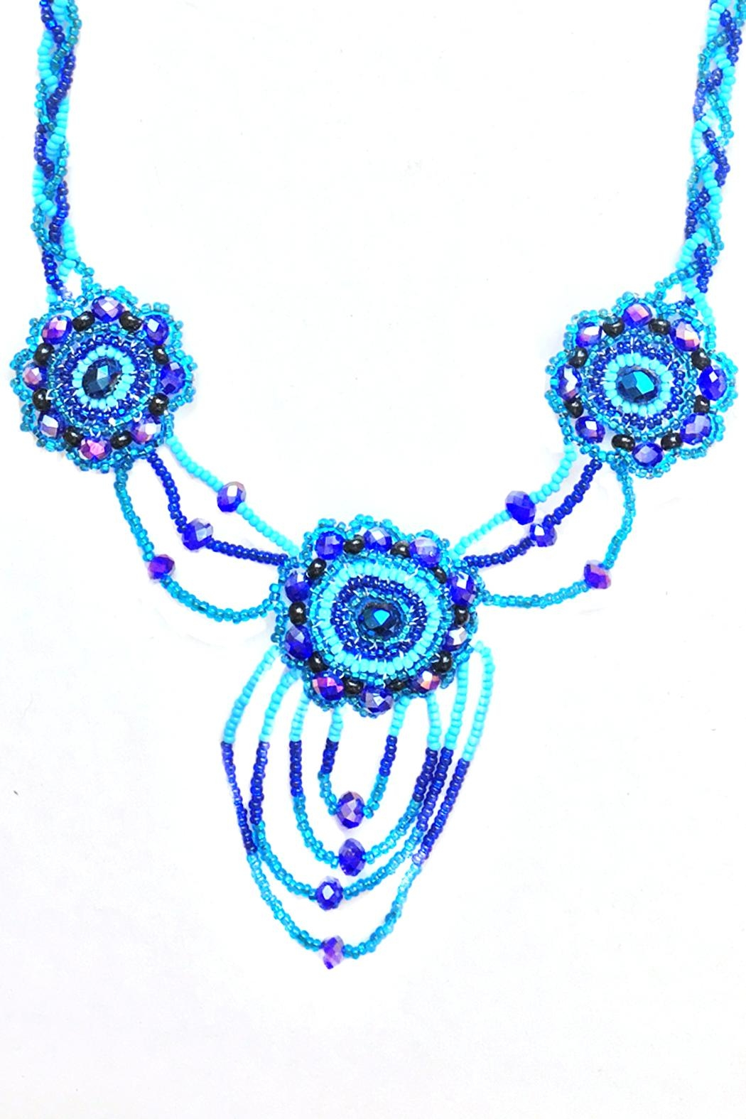 tu-anh boutique Mexican Floral Necklace - Front Full Image