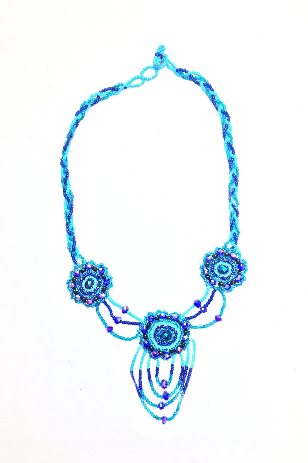 tu-anh boutique Mexican Floral Necklace - Main Image
