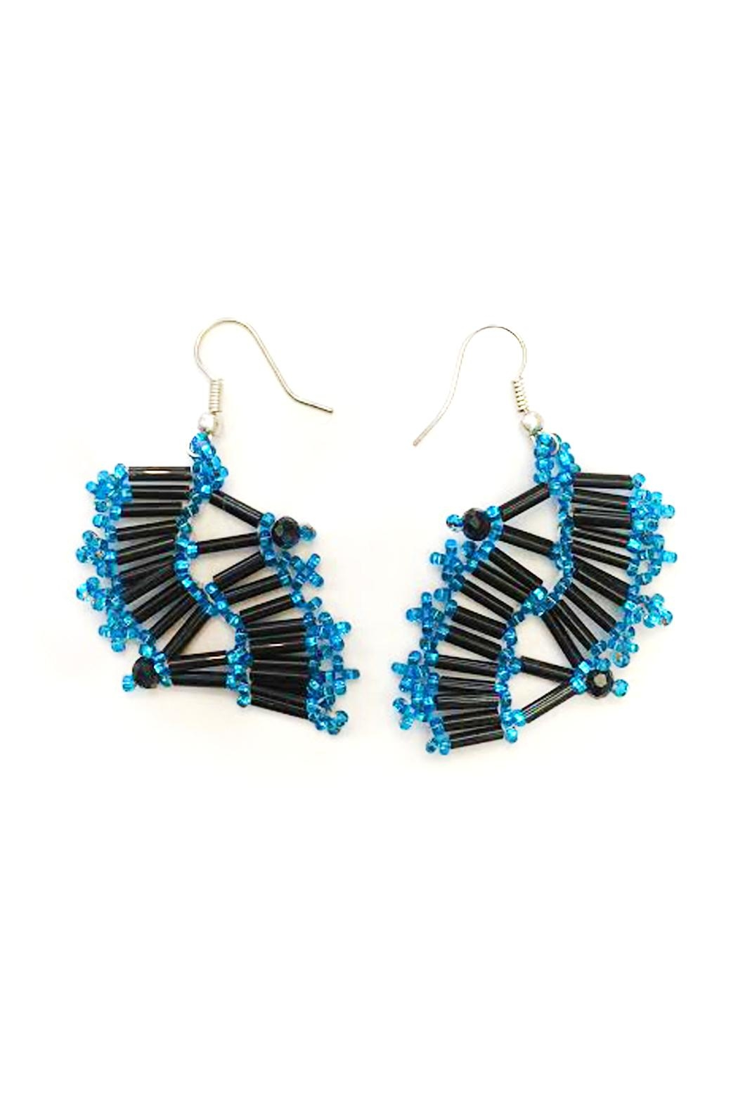 tu-anh boutique Mexican Goddess Earrings - Main Image