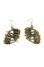 tu-anh boutique Mexican Goddess Earrings - Back cropped