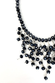 tu-anh boutique Navy Blue Crystal Necklace - Side cropped
