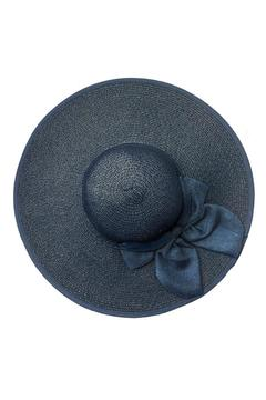 tu-anh boutique Navy Bow Sunhat - Alternate List Image