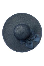 tu-anh boutique Navy Bow Sunhat - Front full body