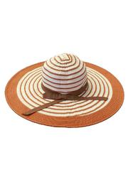 tu-anh boutique Orange Sunhat - Product Mini Image