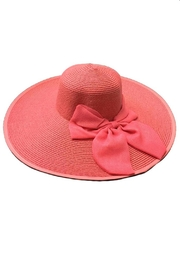 tu-anh boutique Pink Bow Sunhat - Product Mini Image