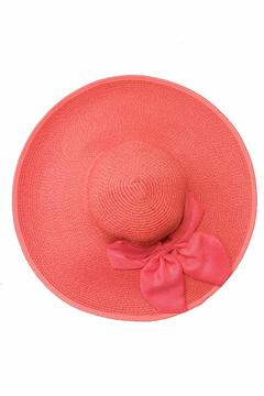 tu-anh boutique Pink Bow Sunhat - Alternate List Image