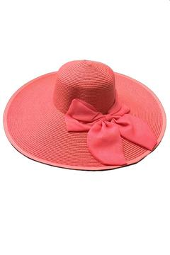 tu-anh boutique Pink Bow Sunhat - Product List Image