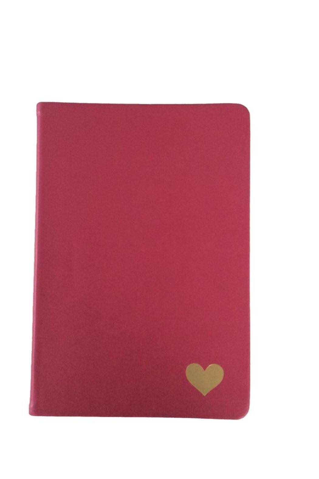 tu-anh boutique Pink Heart Journal - Main Image
