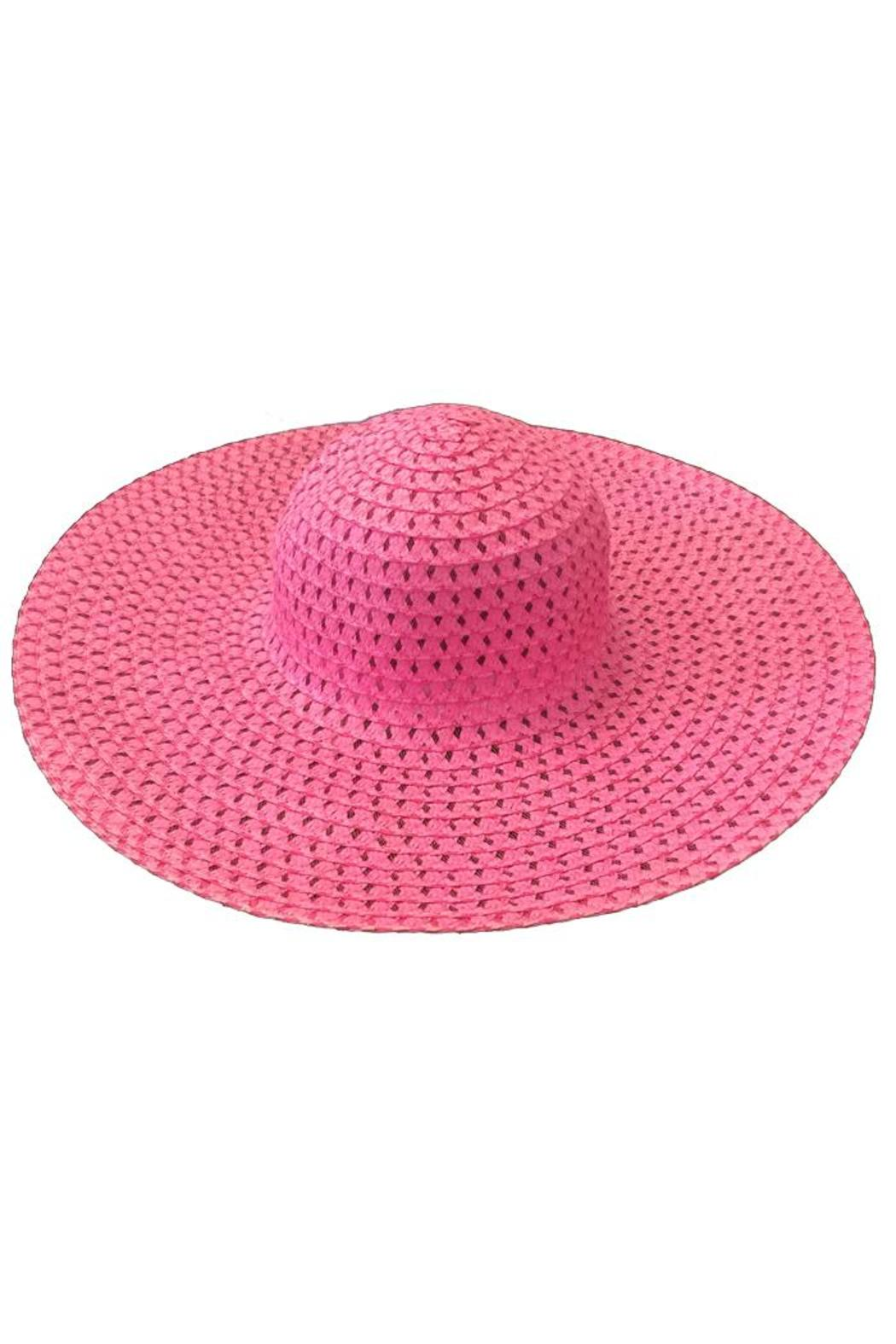 tu-anh boutique Pink Sunhat - Main Image