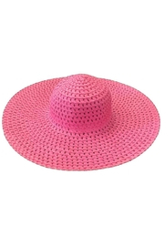 tu-anh boutique Pink Sunhat - Product Mini Image
