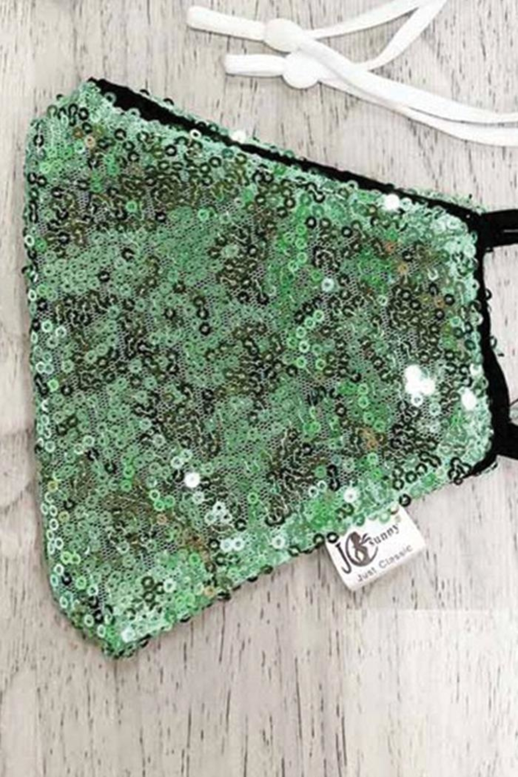 tu-anh boutique Sequin Face Mask - Front Cropped Image