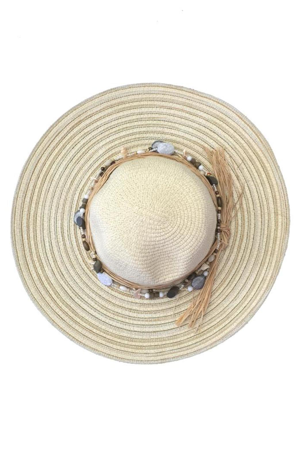 tu-anh boutique Shell Band Sunhat - Front Full Image