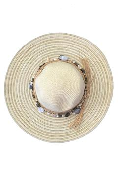 tu-anh boutique Shell Band Sunhat - Alternate List Image