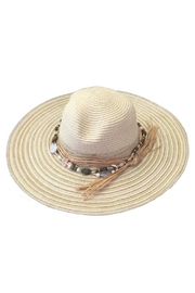 tu-anh boutique Shell Band Sunhat - Product Mini Image
