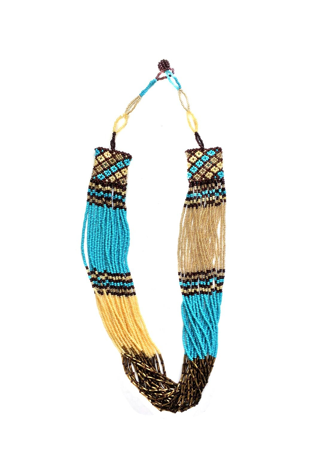 tu-anh boutique South African Necklace - Front Cropped Image