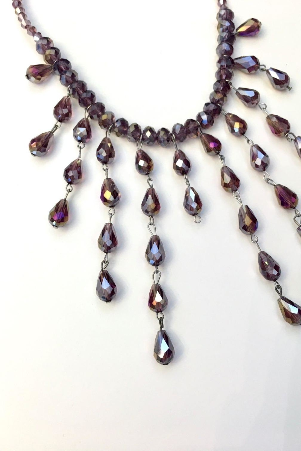 tu-anh boutique Sunset Crystal Necklace - Side Cropped Image