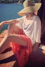 tu-anh boutique Tan Rope-Band Sunhat - Product Mini Image