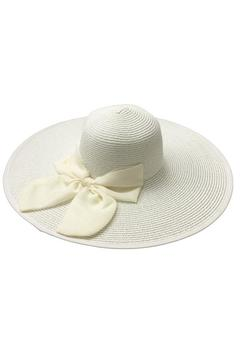 tu-anh boutique White Bow Sunhat - Product List Image