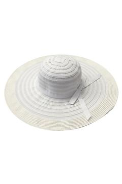 tu-anh boutique White Fabric Sunhat - Product List Image