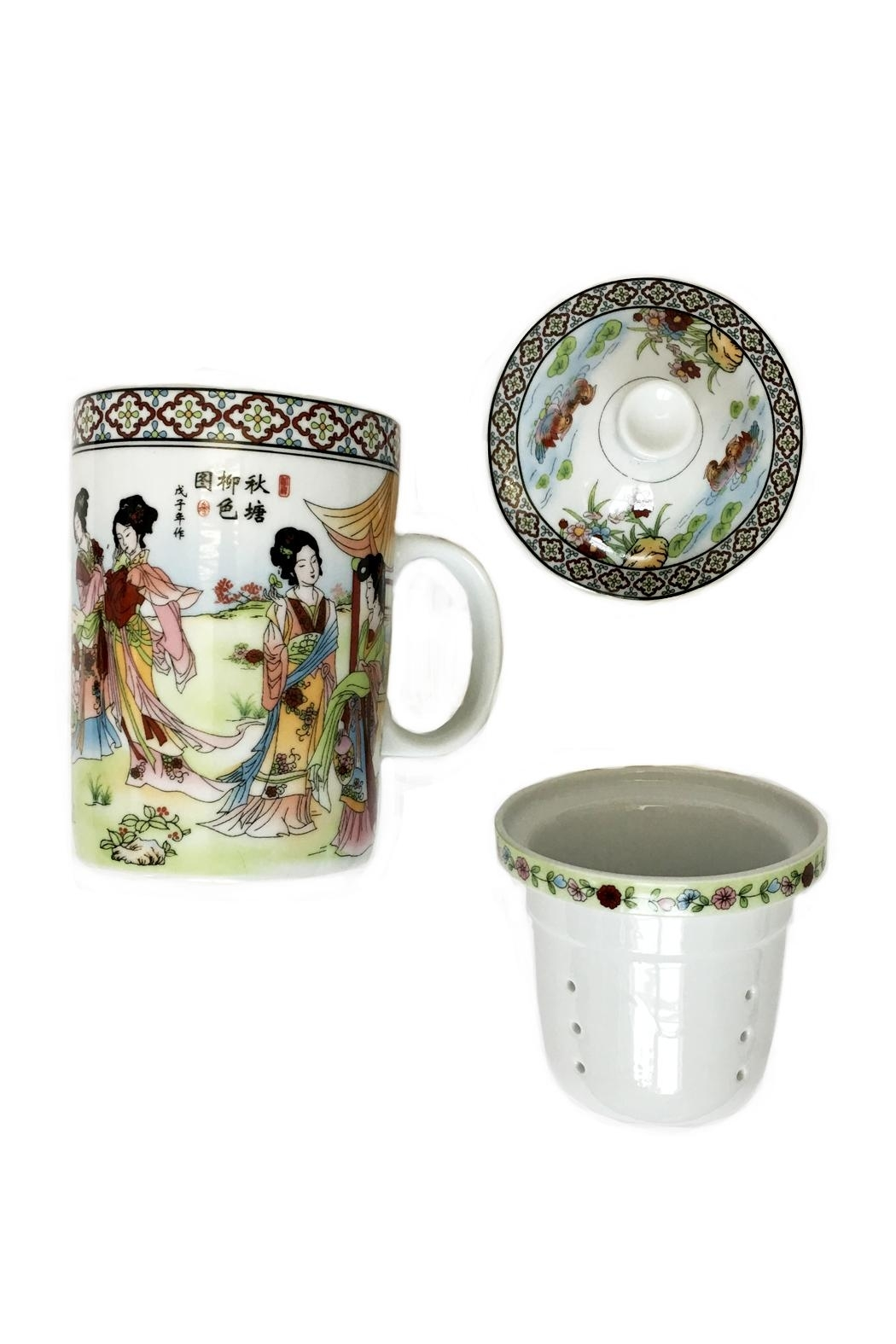 tu-anh boutique White Jade Teapot - Front Full Image
