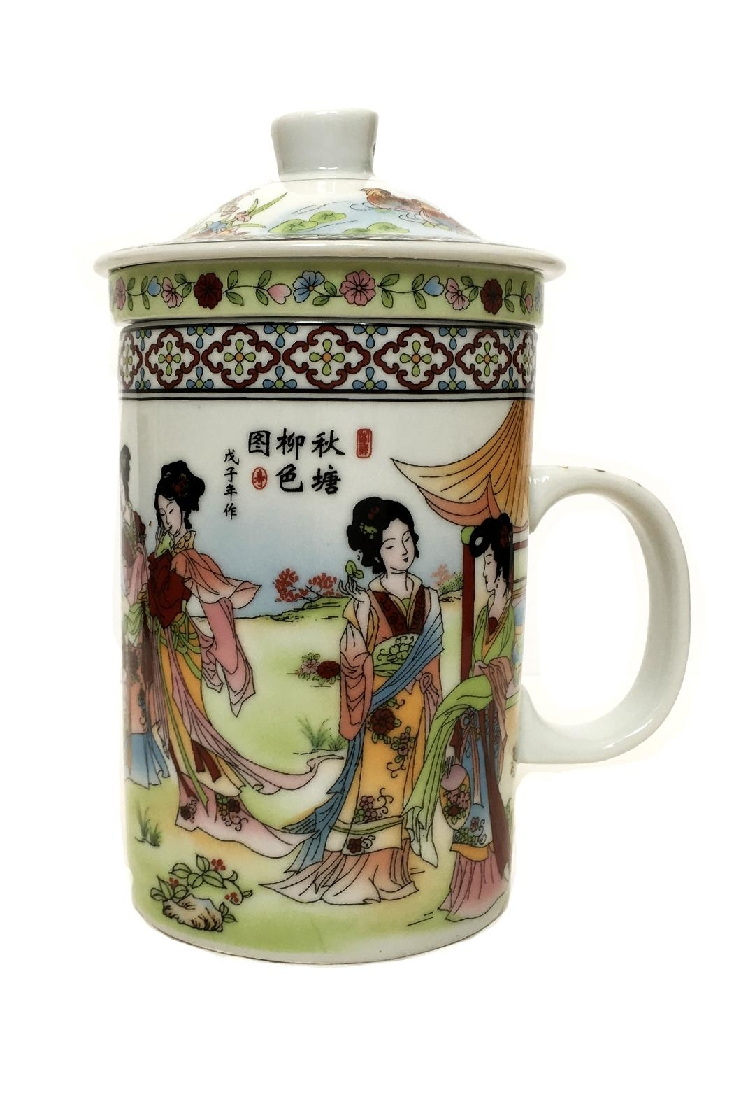 tu-anh boutique White Jade Teapot - Front Cropped Image