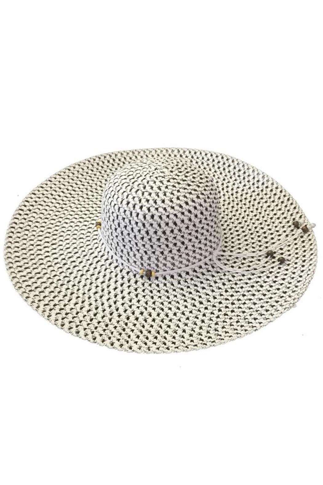 tu-anh boutique White Rope-Band Sunhat - Main Image