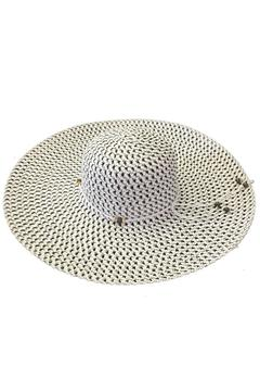 tu-anh boutique White Rope-Band Sunhat - Product List Image