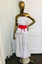 tu-anh boutique White Strapless Jumpsuit - Product Mini Image