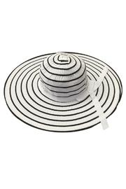 tu-anh boutique White Stripe Sunhat - Product Mini Image