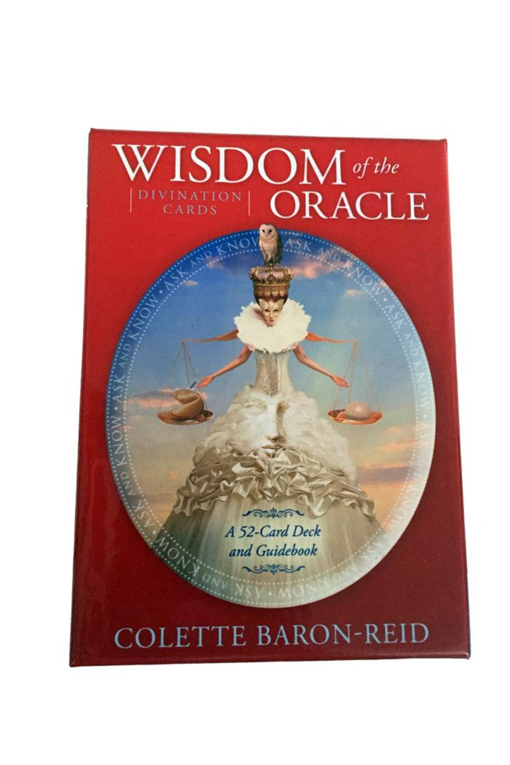 tu-anh boutique Wisdom Oracle Cards Book - Main Image