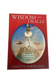 tu-anh boutique Wisdom Oracle Cards Book - Front cropped