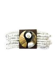 tu-anh boutique Wooden Pearl Bracelets - Product Mini Image