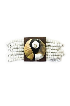 tu-anh boutique Wooden Pearl Bracelets - Product List Image