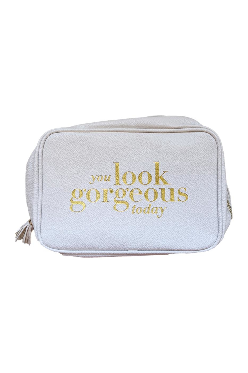 tu-anh boutique You Look Gorgeous Cosmetic Pouch - Main Image