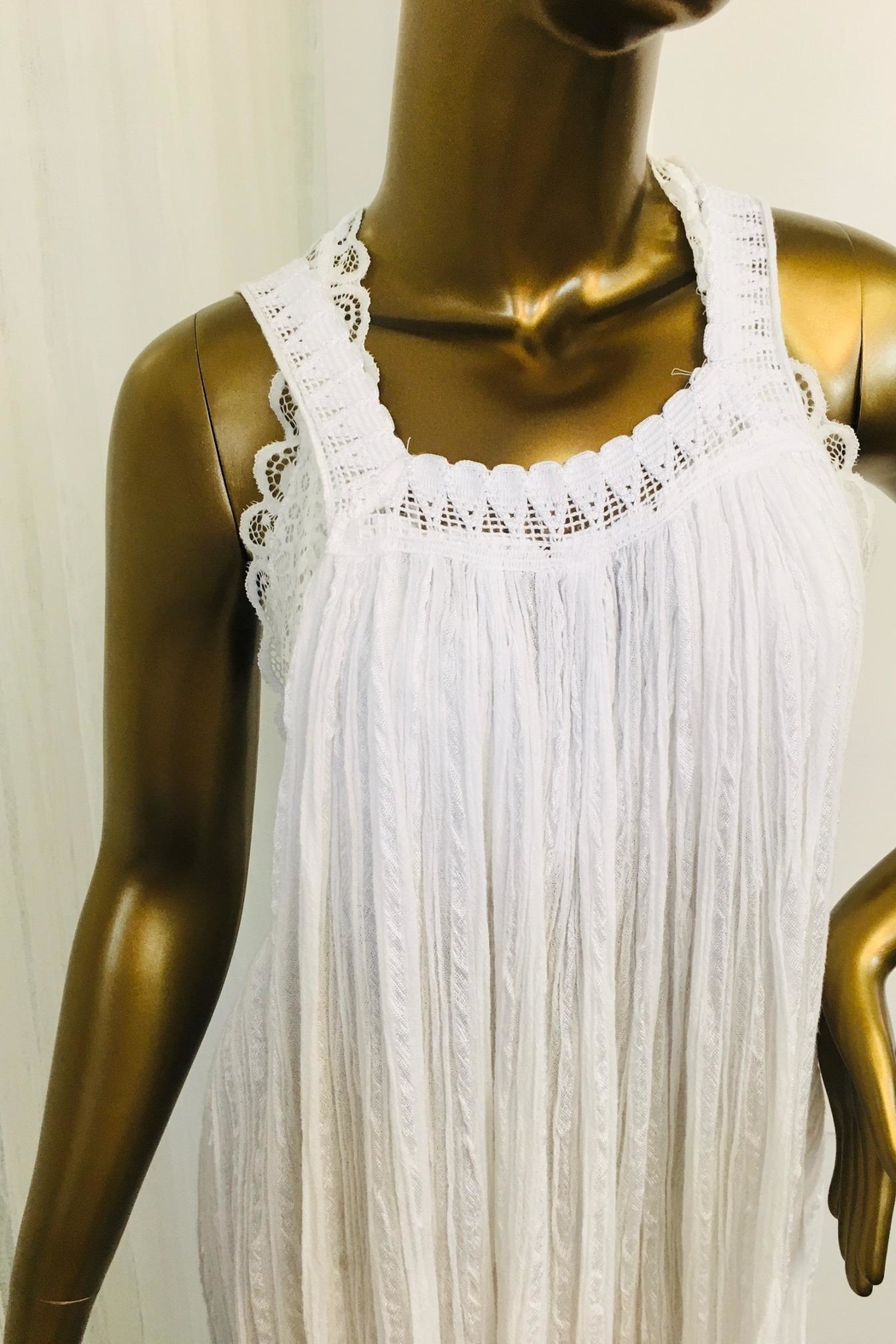 tu-anh boutique Young Goddess - Square Neckline - Front Full Image