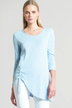 Clara Sunwoo TU74C - Soft Cotton Stretch Tunic - Alternate List Image