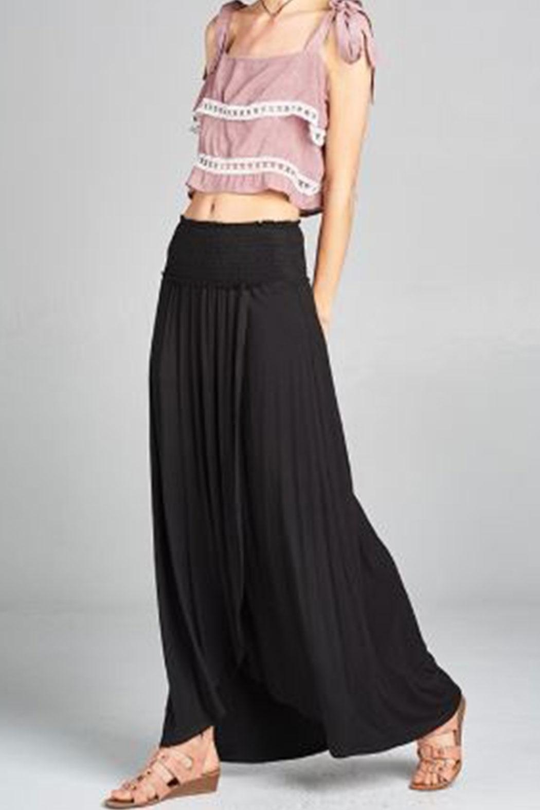 hummingbird Tube-Dress/ Maxi Skirt - Front Cropped Image